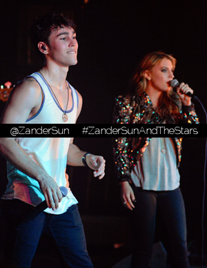 Zander and KC live