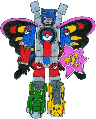 388px-Pokemon Trainer Megazord by MCsaurus