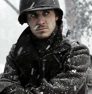 Michael fassbender band of brothers