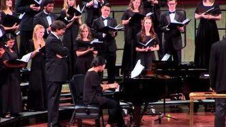 UNT University Singers P.D.Q. Bach Liebeslieder Polkas