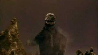Godzilla - A happy moment