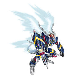 Darkdramon official art
