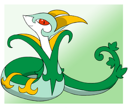 Serperior by pokehihi-d4hkd44