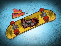 Jurassic Skatepark Title Card