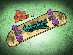 Grindermania Title Card