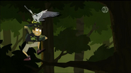 Chris Dodging Hawk