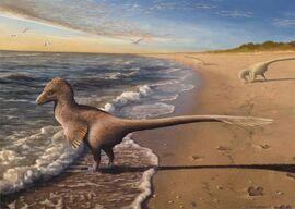 Utahraptor-at-dawn