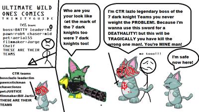 Ultimate wild ones comics trinity GUIDE