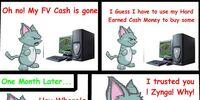Farmville scams a Cat
