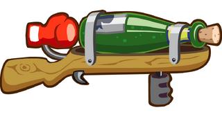 Cork Gun Launcher