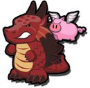 The Dragon with the Pig