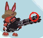 Minigun and bunny