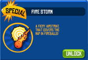 Fire Storm In Shop