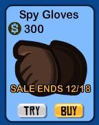 Spy Gloves