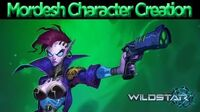 WildStar - Character Creation Mordesh Male and Female