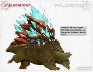 Stalagmite boulderback