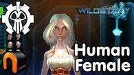 WildStar - Exile - Human Female, Character Creation