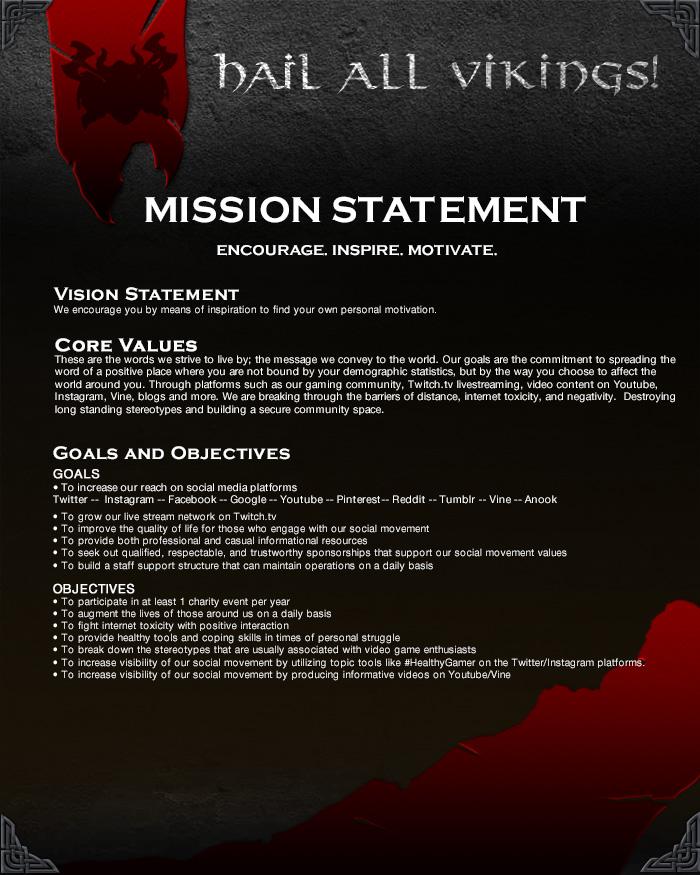 Mission Statement Final