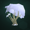 Snow-Covered Bush