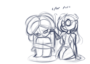 Imp Being Sad (with added Craz)