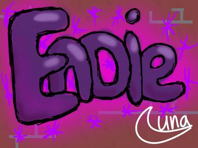 Graffiti wall Endie