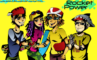 Rocket Power by sasukee23loveeer