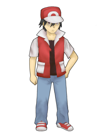 File:Pokemon trainer red rebirth by ainfinity-d35xavf.png