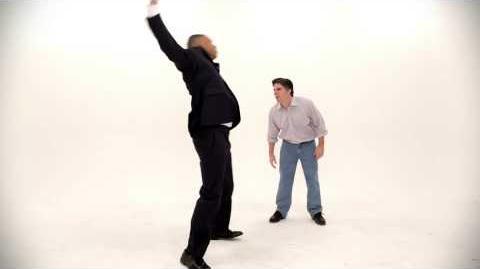Barack Obama vs Mitt Romney. Epic Dance Battle Of History