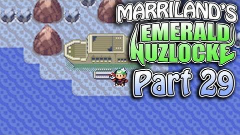 Pokemon Emerald Nuzlocke, Part 29 Why Is Everyone Partying on a Shipwreck?!