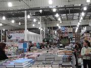 Costco Warehouse - Book Stacks