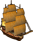 Two Decker Line Ship