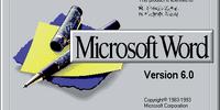 Microsoft Word Version 6.0