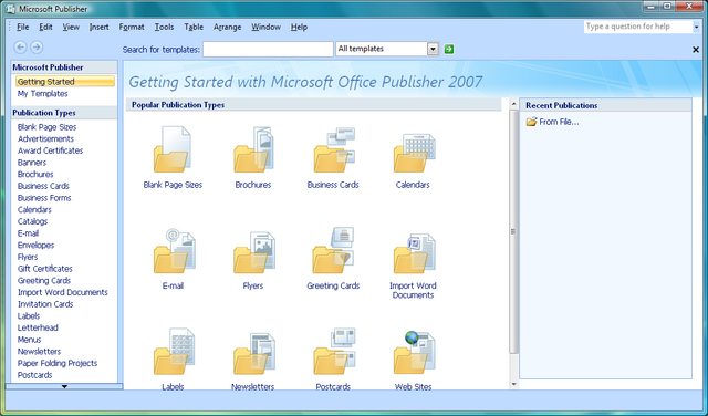 File:Microsoft Office Publisher 2007.png
