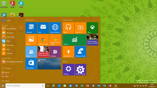 File:Windows 10 Start Menu.png