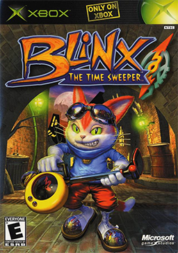 Blinx - The Time Sweeper Box art