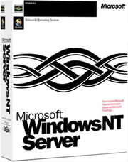 Windows NT 4.0 SERVER CoverBOX