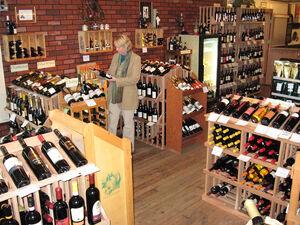 Wine Store Interior 04
