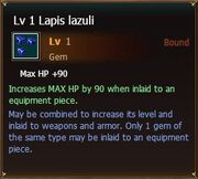 Lapislazuli lvl1