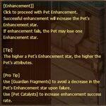 Pets Enhancement Intructions