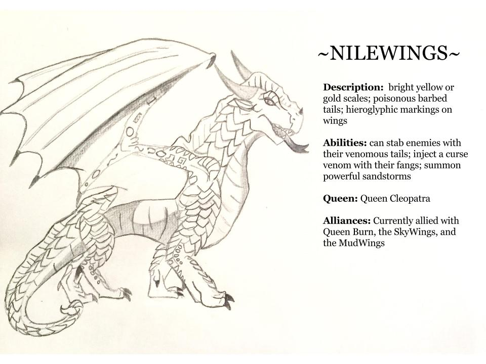 Image Nilewing Profile Jpg Wings Of Fire Fanon Tribes
