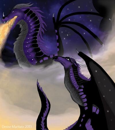 Wings of fire starflight by demari30-d6h56dq