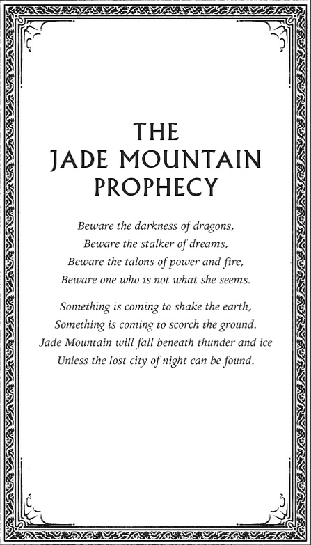 Jade Mountain Prophecy