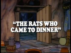 The Rats Who Came To Dinner
