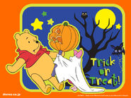 Pooh Wallpaper - Japanese Halloween