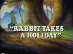 Rabbit Takes a Holiday