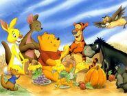 Pooh Wallpaper - Feast