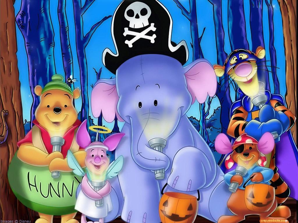 pooh wallpaper poohs heffalump halloween moviejpg - Halloween Movie History
