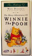 The Making Of The Many Adventures of Winnie the Pooh vhs