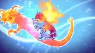 Winx Club Bloom Sirenix 2D! Full Transformation!