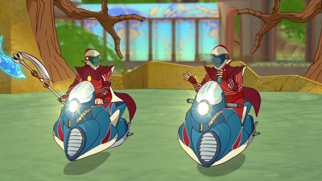 Fichier:Nex on his windrider with Thoren.png